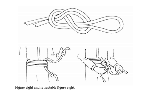 Figure eight and retractable figure eight.